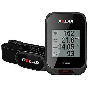 Monitor Cardiaco Polar M460 90069008 para Bicicleta com Bluetooth
