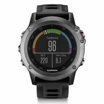 Relógio Masculino Cardiaco Garmin Fenix 3 GPS Monitor Bundle