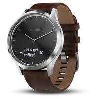 Smartwatch Masculino Garmin Vivomove HR 010-01850-04 Couro Marrom
