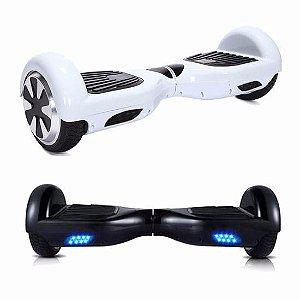 Hoverboard 6,5 Polegadas Dourado - Smart Balance, Bluetooth, Bivolt