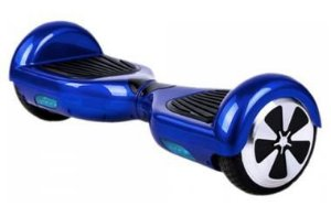 Hoverboard Skate Eletrico Scooter Mini com Bluetooth Azul