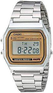 Relógio Unissex Casio A158WEA-9 Prata