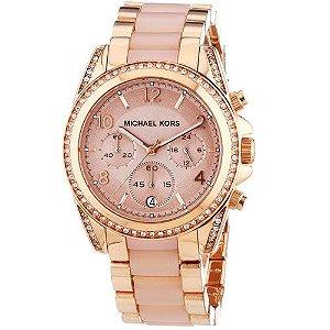 Relógio Feminino Michael kors MK5943 Rose Cravejado