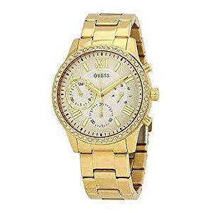 Relógio Feminino Guess W1069L2 Dourado