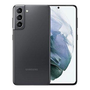"Smartphone Samsung Galaxy S21 Dual Chip 5G Tela 6.2 Polegadas"""