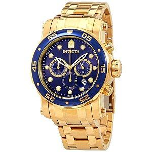 Relógio Masculino Invicta Pro Diver 23651 Dourado