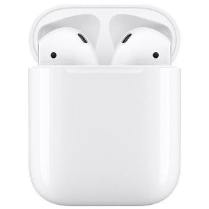 Fone de Ouvido Apple AirPods 2 Wire Case MRXJ2BE / A Bluetooth
