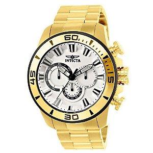 Relógio Masculino Invicta Pro Diver 22589 Dourado