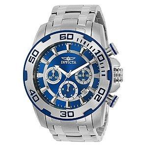 Relógio Masculino Invicta Pro Diver 22319 Prata
