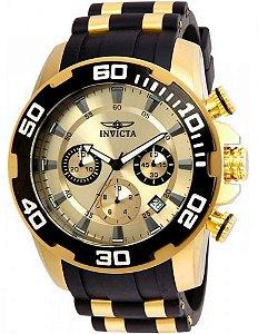 Relógio Masculino Invicta Pro Diver 22346 Preto