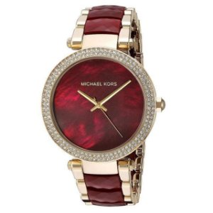 Relógio Feminino Michael Kors MK6412 Parker Vinho Rose