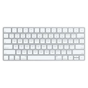 Teclado Apple MLA22LZ Wireless Branco