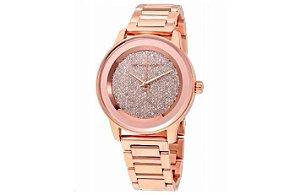 Relógio Feminino Michael Kors MK6210 Cravejado Rose