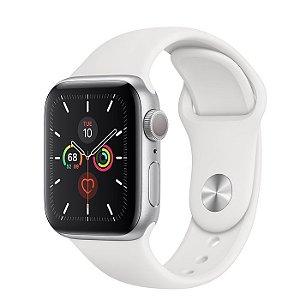 Apple Watch Serie 5 (GPS) 40mm Caixa Em Alumínio Prateado