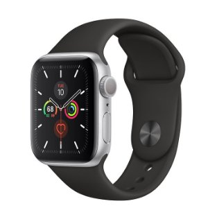 Apple Watch Serie 5 (GPS) 44mm Caixa Em Alumínio Prateado