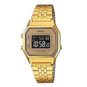 Relógio Feminino Casio Vintage LA680WGA-9BDF Dourado
