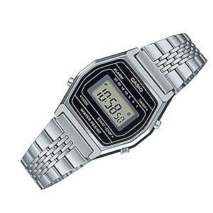 Relógio Masculino Casio Vintage LA690WA-1DF Prata