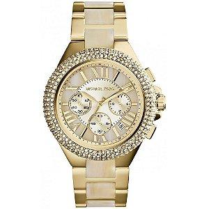 Relógio Feminino Michael Kors MK5902 Dourado cravejado