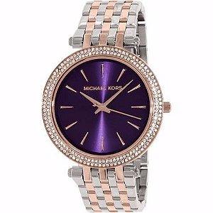 Relógio Feminino Michael Kors MK3353 Misto Cravejado