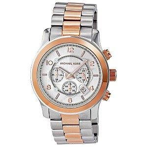 Relógio Feminino Michael Kors MK8176 Misto Prata e Dourado