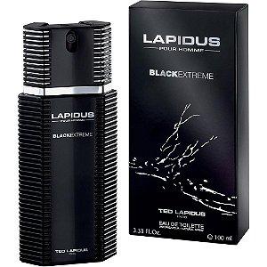Perfume Masculino Lapidus Black Extreme Ted Lapidus Eau de Toilette