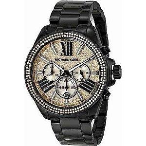 Relógio Feminino Michael Kors MK5961 Preto Cravejado