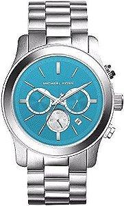 Relógio Feminino Michael kors MK5953 Prata & Blue