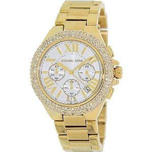 Relógio Feminino Michael Kors MK5756 Cravejado Dourado