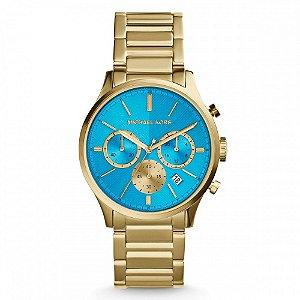 Relógio Feminino Michael Kors MK5910 Gold Blue