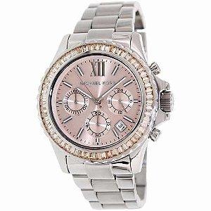 Relógio Feminino Michael Kors MK5870 Prata Rose