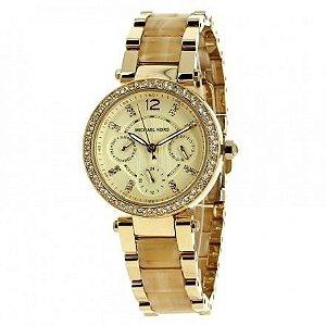Relógio Feminino Michael Kors MK5842 Cristais Madrepérola