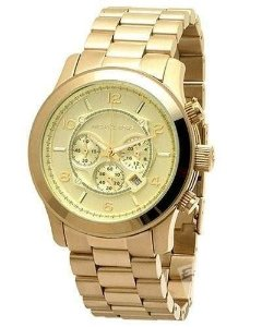 Relógio Feminino Michael Kors MK8077 Gold Stainless