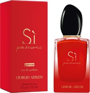 Perfume Feminino Giorgio Armani Sì Passione Intense Eau de Parfum