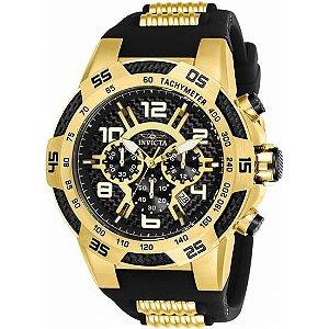 Relógio Masculino Invicta Pro Diver 24233 Dourado