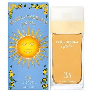 Perfume Feminino Dolce & Gabbana Light Blue Sun Eau de Toilette