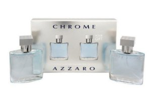 Kit Perfume Azzaro Chrome 2 x 30ml Eau de Toilette
