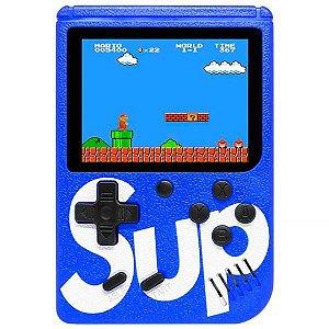 Mini Game Portátil Retro Sup Game Box 400 in 1 Plus com 400 Jogos - Azul