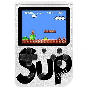 Mini Game Portátil Retro Sup Game Box 400 in 1 Plus com 400 Jogos - Branco