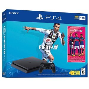 Caixa para PlayStation 4 Slim Sony CUH-2215B - FIFA 19