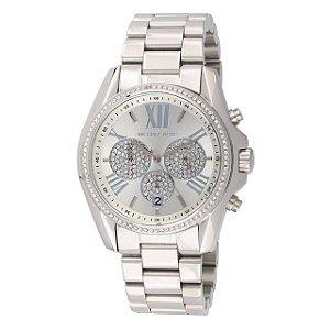 Relógio Feminino Michael Kors MK6537 Prata Cravejado