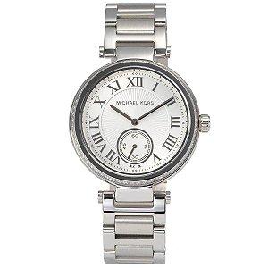 Relógio Feminino Michael Kors MK5866 Prata Cravejado