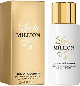Loção Corporal Paco Rabanne Lady Million 200ml