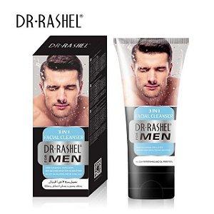 Gel Limpeza de Pele Profunda DR. RASHEL 3 em 1 Para Homem