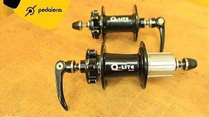 Cubos Q-Lite 32 furos com trava central para disco - 7422