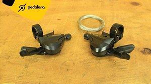 Alavancas Rapidfire Shimano M310 para 7 ou 8 velocidades