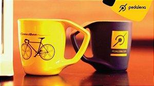 Caneca Pedaleria Speedbee - Amarelo ou preto fosco