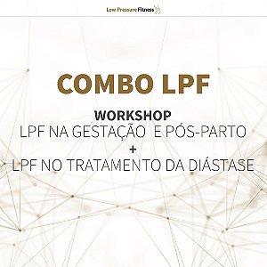 Combo Workshop - LPF na Gestação e Pós-Parto dia 13 de março das 9h às 12h + LPF no Tratamento da Diástase dia 20/03 das 9h às 12h