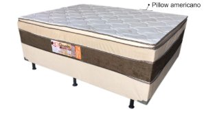 CAMA BOX ORTON SONO CHANCELER C/PILLOW ESPECIAL 138X188X74