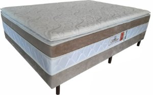 CAMA ELEGANCE BOX CPILLOW LUXO 138X188X58