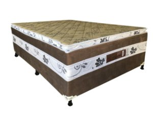CAMA BOX D28 138X188X57 MERON SAFIRA C/PILLOW